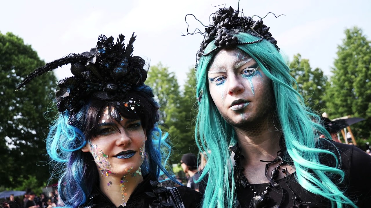 Wave Gotik Treffen 2018 - Faces, outfits and impressions (HD)  (Crazy Clip TV 323)
