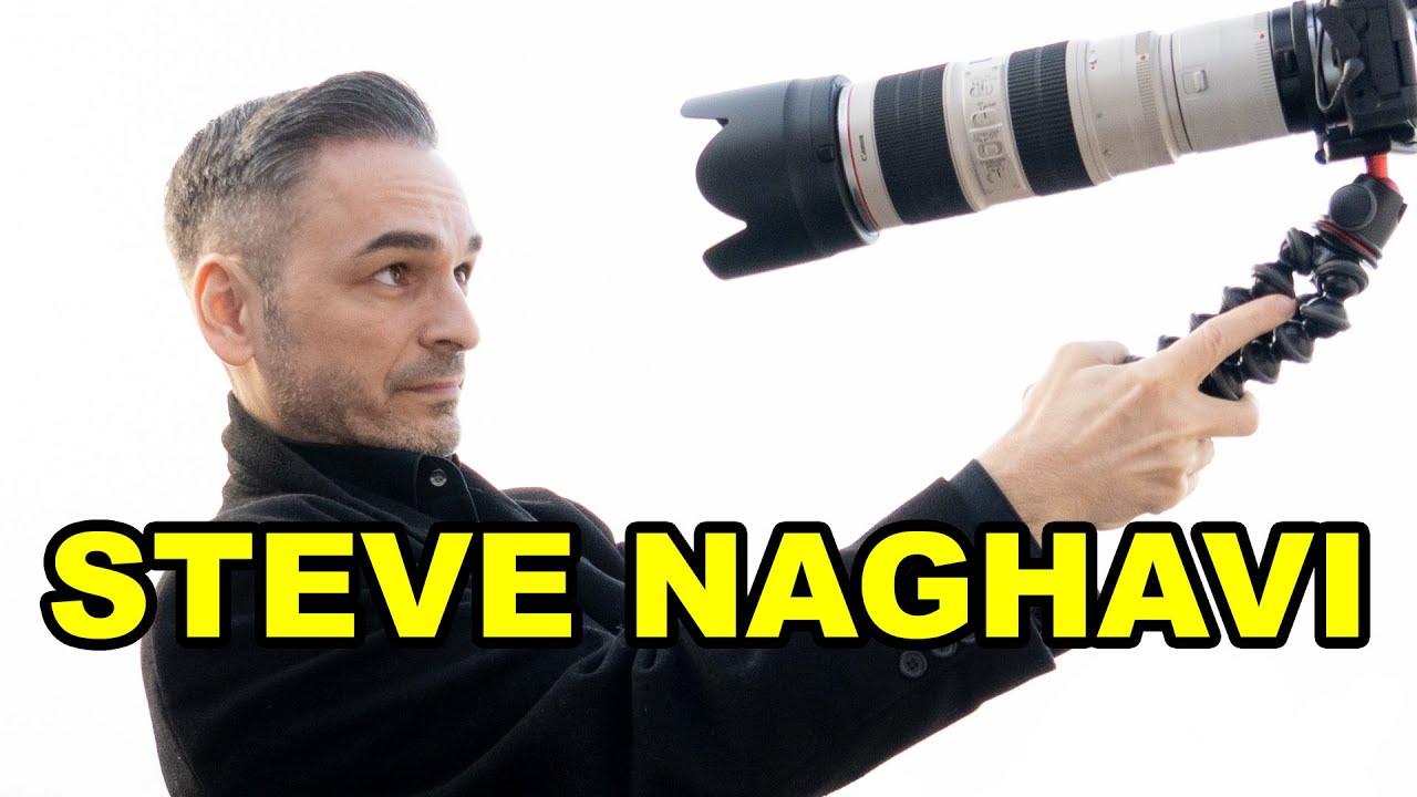 Ich bin Steve Naghavi